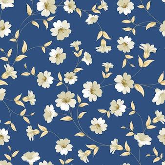 Botanisch naadloos patroon