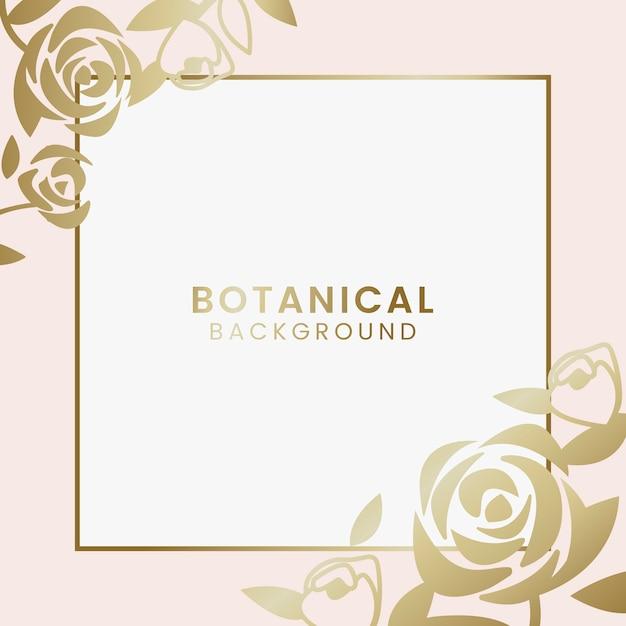 Botanische bloemenillustratie
