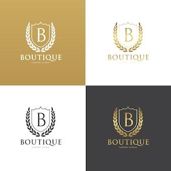 Boutique logo collectie