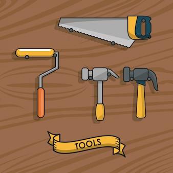 Bouw hulpmiddelen apparatuur