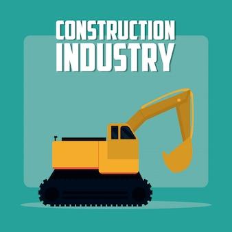 Bouw industrie concept
