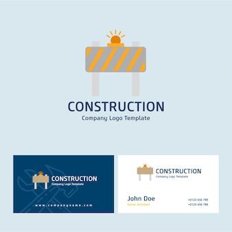 Bouw logo en visitekaartje
