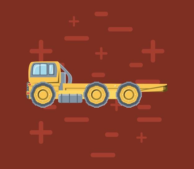 Bouw vrachtwagens ontwerp