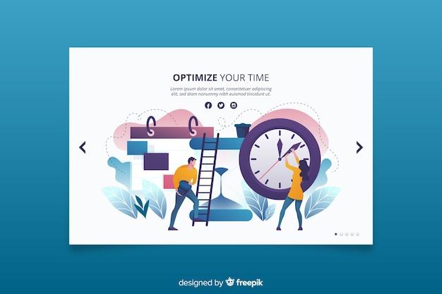 Bouwen aan efficiënte manieren om op tijd bestemmingspagina te zijn