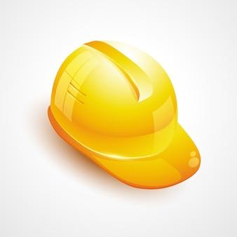 Bouwer helm pictogram