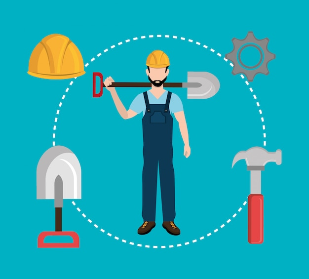 Bouwnijverheid en gereedschappen