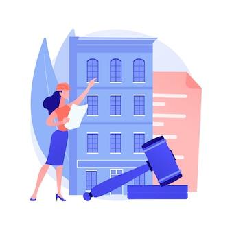 Bouwvoorschriften abstract concept