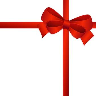 Bow ribbon tie vector art design