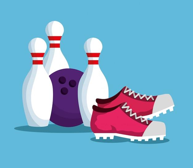 Bowling elementen