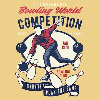 Bowling world-wedstrijd