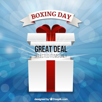 Boxing day's great deal op geselecteerde items