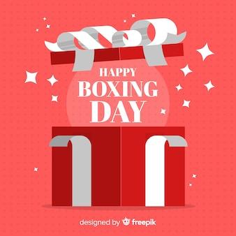 Boxing day verkoop achtergrond