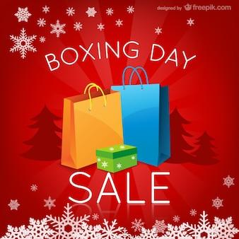 Boxing day verkoop