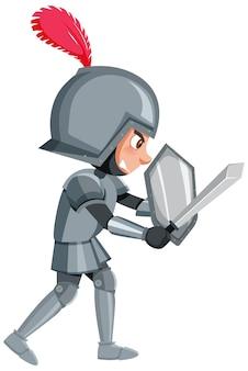 Boze ridder stripfiguur