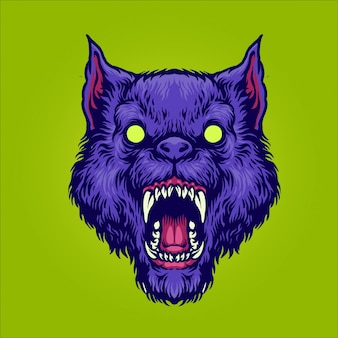 Boze zombiewolf