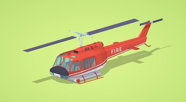 Brand helikopter