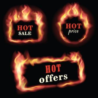 Brand hete verkoop