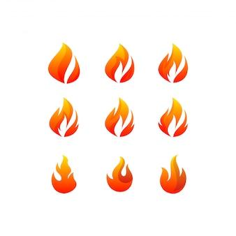 Brand logo-bundel