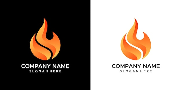 Brand logo ontwerp