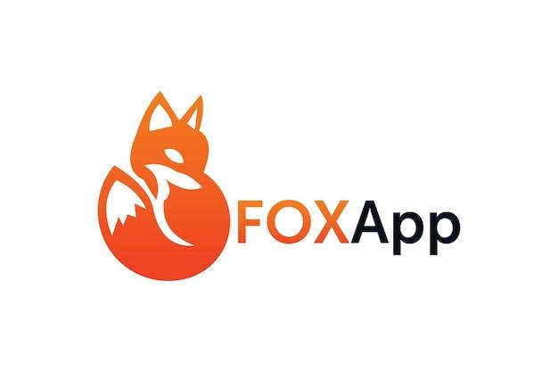Brand vos logo ontwerp