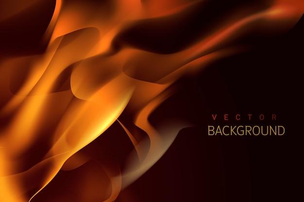 Brandende vlam achtergrond