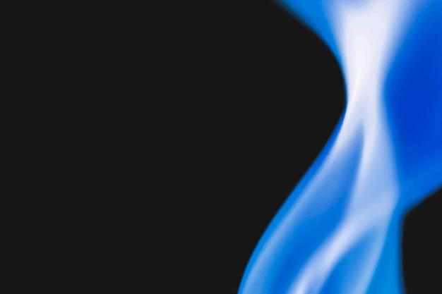 Brandende vlamachtergrond, realistisch vectorzwart beeld van de brandgrens