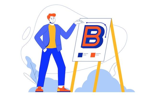 Branding webconcept