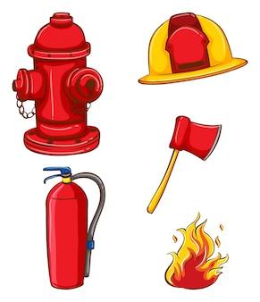 Brandweerman apparatuur