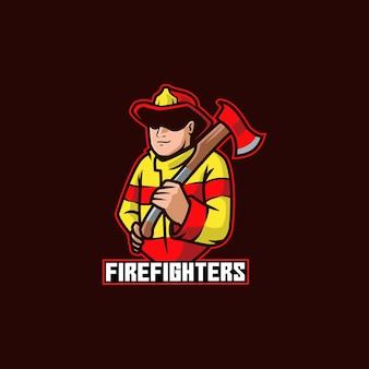Brandweerman veiligheidsuniform gevaar held masker nood brandweerman brand
