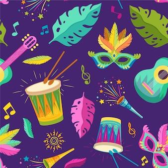 Braziliaans carnaval patroon
