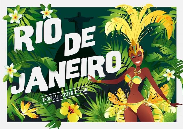 Braziliaanse sambadanser