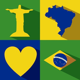 Brazilië ontwerp