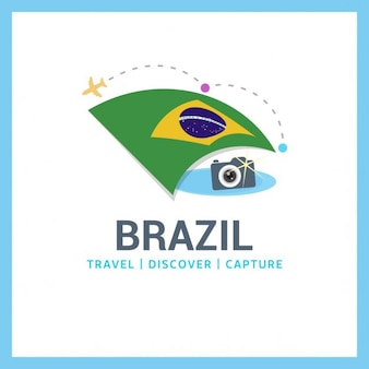 Brazilië travel logo