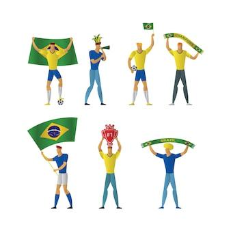 Brazilië voetbalfans