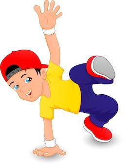 Breakdance jongen