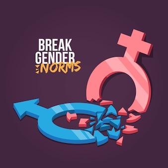 Breek de stijl van gendernormen