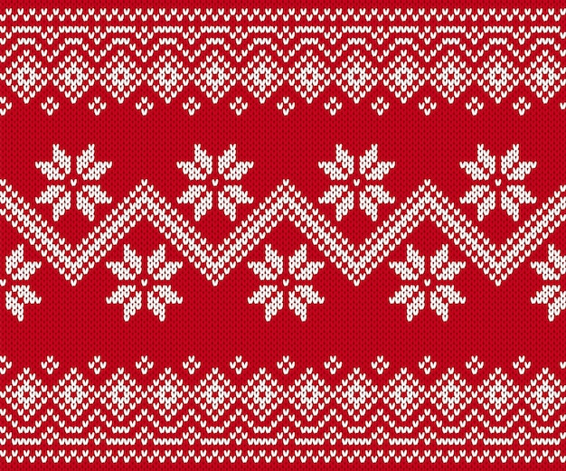 Brei rode naadloze print. kerst patroon. vector illustratie.