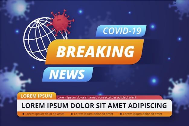 Brekend nieuws over het coronavirus
