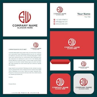 Brief ieuw logo en visitekaartje