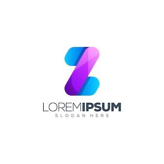 Brief logo ontwerp vectorillustratie
