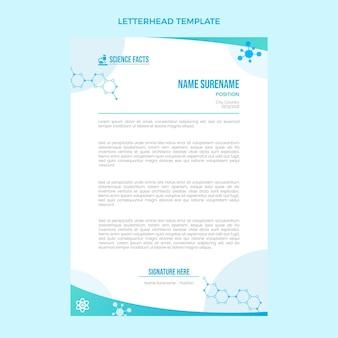 Briefpapier met gradiëntwetenschap