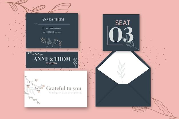 Briefpapier pakket