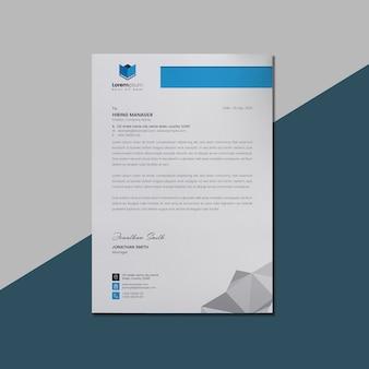 Briefpapier template