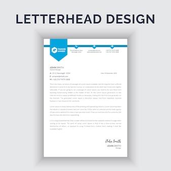Briefpapierontwerp voor bedrijven