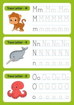 Brieven schrijven met dieren voor kinderen