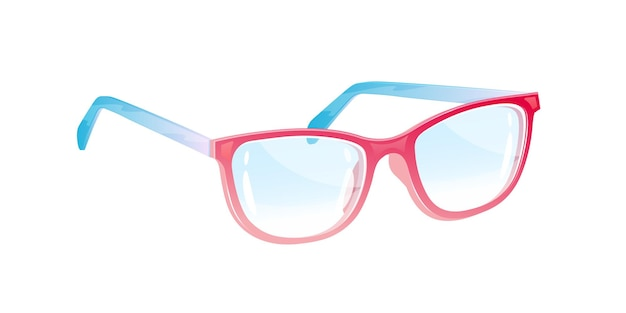 Bril. bril. illustratie.