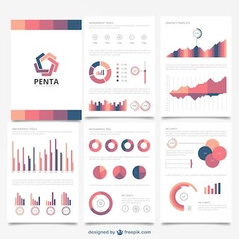 Brochure infographic