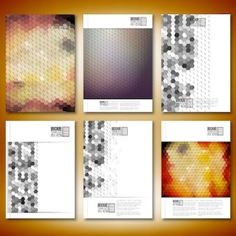Brochure- of flyer-sjablonen