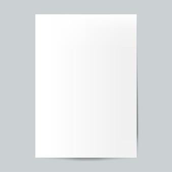Brochure ontwerp sjabloon mockup vector
