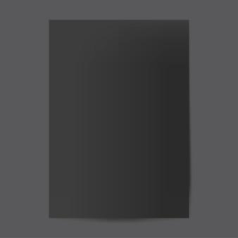 Brochure ontwerpsjabloon mockup